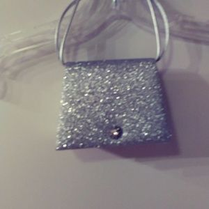 Handbags - Glamour Rhinestone Button Evening Bag